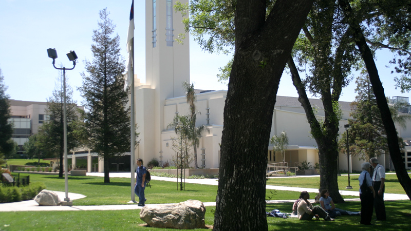 Exterior view of LLU Church